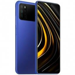 Título do anúncio: Pocophone M3 128GB + 4GB Ram Global Azul ( Poucas unidades )