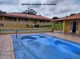 Sítio 21.000 m2 Lagos Riacho Píscina 2 Casas 6 dorm. ótimo local Ref. 425 Silva Corretor