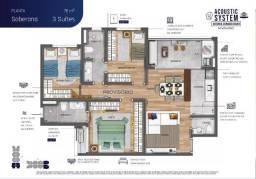 Título do anúncio: Apto 76m², 3 suítes - Blue View - Vila Industrial