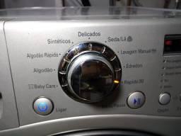 Lava e seca LG 11kg prata linda D+