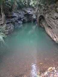 6 alqueire  147 km de Goiânia.lugar único serve para pousada. formada.  cachoeiras