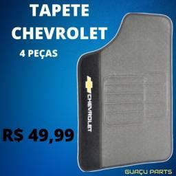 Tapete Chevrolet Jogo 4 Tapetes C/ Logo GM