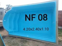 Picina em fibra NF 08 capela