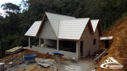 Construímos casas e chalés em Domingos Martins