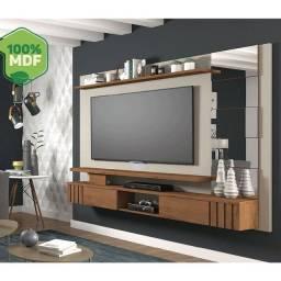 """Título do anúncio: Painel 100% MDF p tv até 66"""" polegadas novo na caixa Rio decor"""