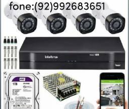 Instalação , manutenção e configuração de câmeras de segurança. ..