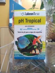 Testes de pH, amônia e dureza da água em promoção