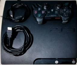 Título do anúncio: PS3 SLIM COM DEFEITO, ELE LIGA DAR LUZ VERDE E DESLIGA EM SEGUIDA.