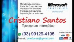 Título do anúncio: Manutenção em informática