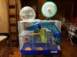 Título do anúncio: Gaiola e acessórios para Hamster e topolino