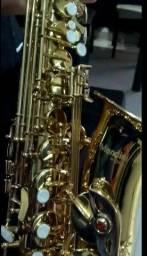 Título do anúncio: Sax alto Mendini Cecílio novinho com garantia
