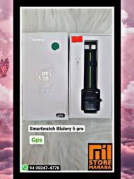 Super lançamento  Blulory 5 Pro o Smartwatch mais completo do mercado.