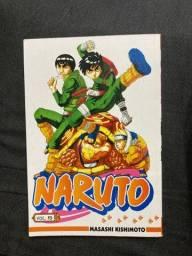 Título do anúncio: Mangá Naruto Vol.10 ?Rock Lee vs Gaara?