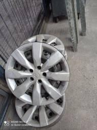 Título do anúncio: Rodas do Corola com calotas 0km