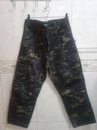 Calça estilo militar
