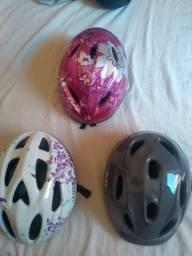 Capacete ciclista criança