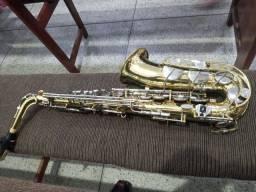 Título do anúncio: Sax alto Yamaha yas 21  aceito cartão