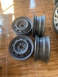 Título do anúncio: Rodas de ferro aro 14 zeradas