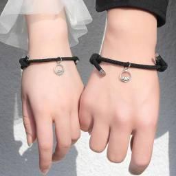 Pulseira, pulseira magnética , moda casal
