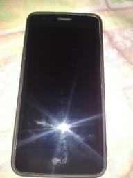 Título do anúncio: Smartphone LG k9 com capa conservado