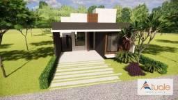 Título do anúncio: Casa com 3 dormitórios à venda, 134 m² por R$ 775.000 - Terras da Estância - Paulínia/SP