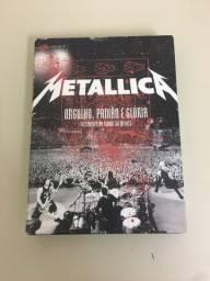 Box Metallica CDs e DVDs Original