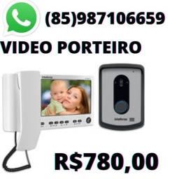 Título do anúncio: Vídeo Porteiro para sua Residência a partir de R$780,00!