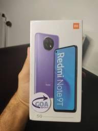 Redmi Note 9T - 4GB/64GB - 12X SEM JUROS - 90 DIAS DE GARANTIA