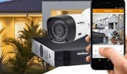 Promoção kit com 4 câmeras de segurança