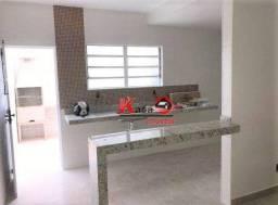 Título do anúncio: Casa com 2 dormitórios à venda, 90 m² por R$ 279.000,00 - Vila São Jorge - São Vicente/SP