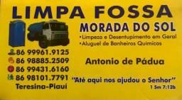 Título do anúncio: Limpa Fossas Morada do Sol(Irmão Antônio de Pádua)