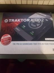 Placa de áudio TraKtor Áudio2 impecável!