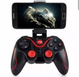 Controle Celular Joystick Bluetooth Jogos Smart Android Ios