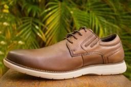 Sapato Casual Couro Legítimo Ferracini
