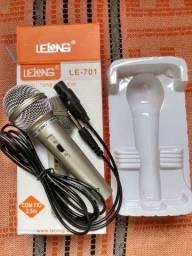 Título do anúncio: Microfone Profissional Com Fio Lelong Le-701