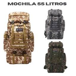 Mochila Cargueira 55 Litros