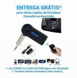 Título do anúncio: Adaptador bluetooth receptor de áudio   para carro, casa, caixa ou caixinha de som