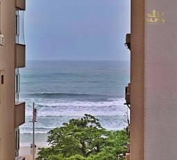Título do anúncio: Apartamento na praia, vista para o mar 2 dormitório 1 suíte 1 vaga Pitangueiras Guarujá.