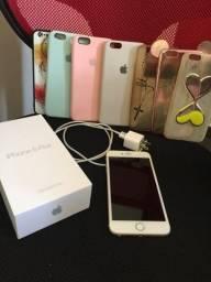 Título do anúncio: iPhone 6 Plus Dourado