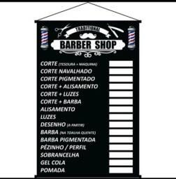 Título do anúncio: Banner de preço para barbearia