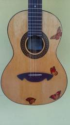 Título do anúncio: Viola de Luthier Tampo Maciço. Henrique Guimarães