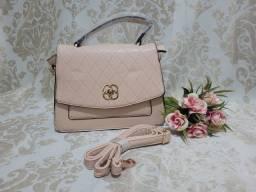 Título do anúncio: Bolsa de mão rose
