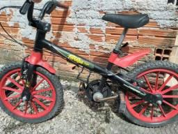 Barbada bicicleta infantil