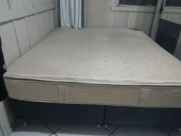 Título do anúncio: Vendo cama Box King Sezi em bom estado
