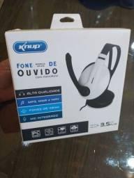 Título do anúncio: Headset Gamer X P3 para PC/ PS4/ Xbox One - Knup