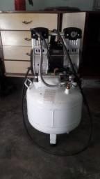 Compressor odontologia isento de óleo