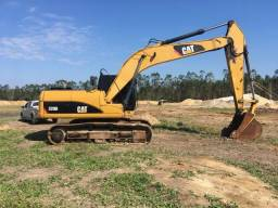 Escavadeira cat 320d 320 320dl caterpillar pc200 r210 ANO 2012