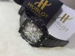 6da5c28af0f Relogio - Acabamento Prata - 100%Aço - Cronografo Datador - Coroas 100%