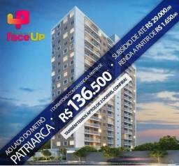 Lançamento 1 e 2 dormitórios Metrô Patriarca