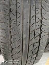 01 kit de 04 pneus 10x cartão sem juros!!!Pneu 245/70-17 dumlop com 70% de vida útil